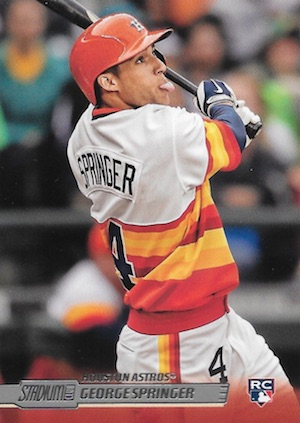 Top George Springer Rookie Cards and Key Prospects 23