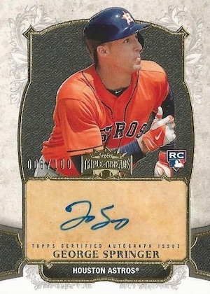 Top George Springer Rookie Cards and Key Prospects 27
