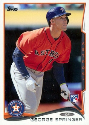 Top George Springer Rookie Cards and Key Prospects 14