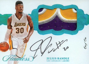 2016-17 Panini Flawless Basketball