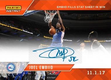 2017-18 Panini Instant NBA Basketball Cards 26