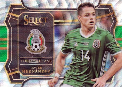 2017-18 Panini Select Soccer Cards 32