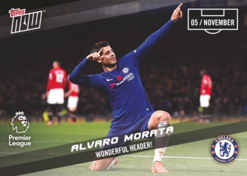 2017-18 Topps Now Premier League Soccer Cards 12