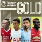 2017-18 Topps Premier League Gold Soccer Cards
