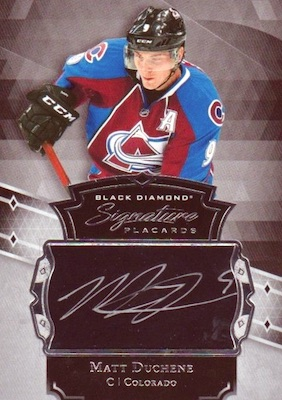 2017-18 Upper Deck Black Diamond Hockey
