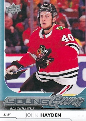 2017-18 Upper Deck Young Guns Guide and Gallery 11