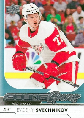 2017-18 Upper Deck Young Guns Guide and Gallery 24