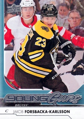 2017-18 Upper Deck Young Guns Guide and Gallery 35