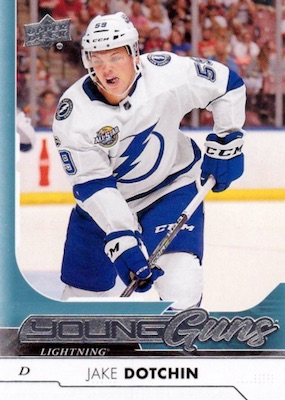 2017-18 Upper Deck Young Guns Guide and Gallery 39