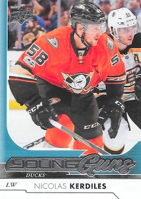 2017-18 Upper Deck Young Guns Guide and Gallery 41