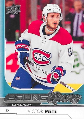 2017-18 Upper Deck Young Guns Guide and Gallery 45