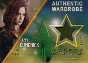 2017 Cryptozoic Arrow Season 4 Trading Cards 34