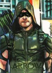 2017 Cryptozoic Arrow Season 4 Trading Cards 36