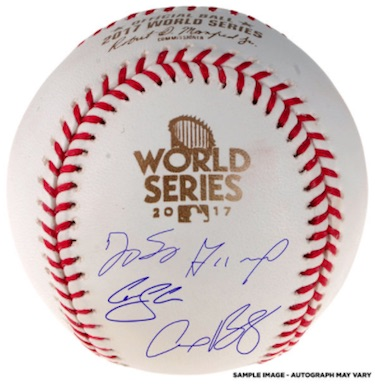 2017 Houston Astros World Series Champions Memorabilia Guide 7