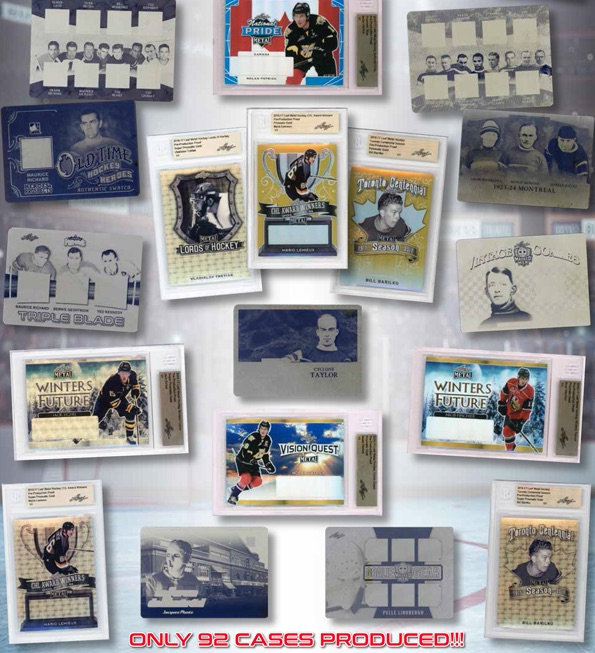 2017 Leaf Plates & Proofs Hockey Cards 1