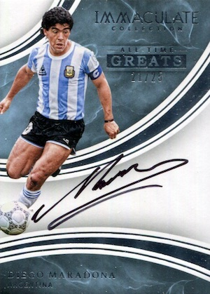 2017 Panini Immaculate Collection Soccer Cards 22
