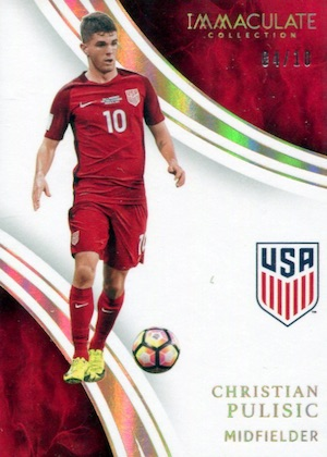 2017 Panini Immaculate Collection Soccer Cards 21