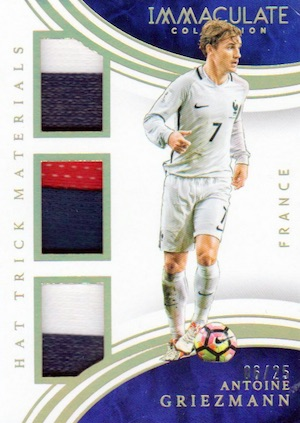 2017 Panini Immaculate Collection Soccer