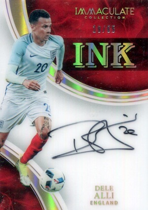 2017 Panini Immaculate Collection Soccer Cards 29