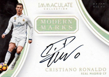 2017 Panini Immaculate Collection Soccer Cards 1