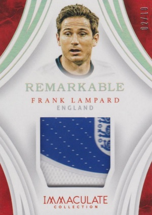 2017 Panini Immaculate Collection Soccer Cards 36
