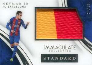 2017 Panini Immaculate Collection Soccer Cards 28