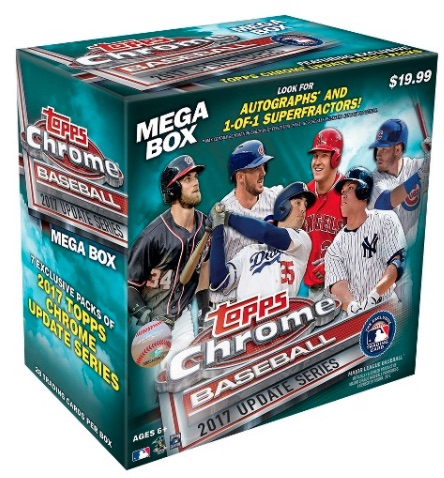 2017 Topps Chrome Update Series Baseball Cards 1