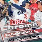 2017 Topps Chrome Update Series Baseball Cards