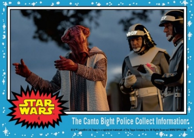 2017 Topps Countdown to Star Wars The Last Jedi Trading Cards 6