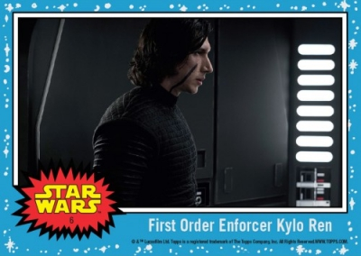 2017 Topps Countdown to Star Wars The Last Jedi Trading Cards 8