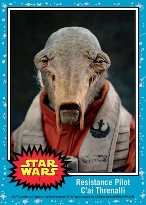 2017 Topps Countdown to Star Wars The Last Jedi Trading Cards 9