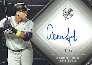 Aaron Judge Rookie Cards Checklist and Key Prospects 42
