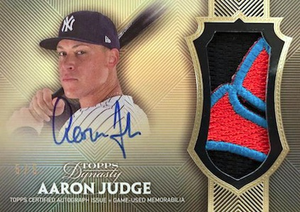 Aaron Judge Rookie Cards Checklist and Key Prospects 43