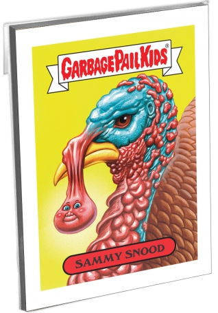 2017 Topps GPK Wacky Packages Thanksgiving Trading Cards 2