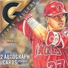 2017 Topps Gallery Baseball Cards