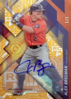 2017 Topps High Tek Baseball Cards 32