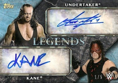 2017 Topps Legends of WWE Wrestling Cards 2