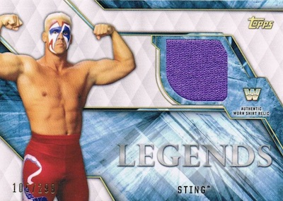 2017 Topps Legends of WWE Wrestling Cards 25