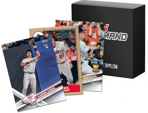 2017 Topps Mini Baseball Cards 2