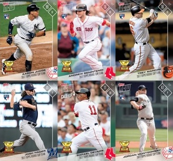 2017 Topps Now MLB All-Star Rookie Team