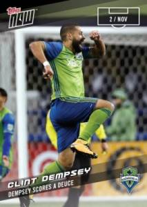2017 Topps Now MLS Soccer Cards 34