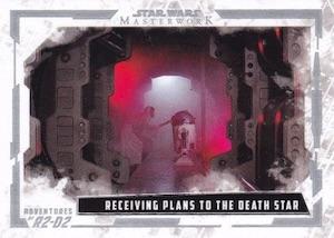 2017 Topps Star Wars Masterwork Trading Cards 31