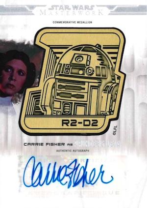 2017 Topps Star Wars Masterwork Trading Cards 29
