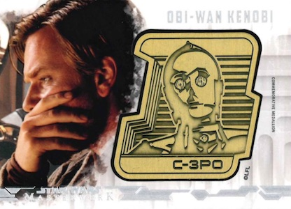 2017 Topps Star Wars Masterwork Trading Cards 28