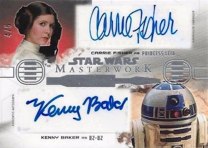 2017 Topps Star Wars Masterwork Trading Cards 24