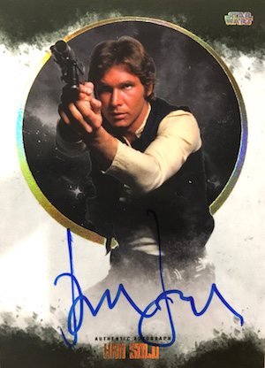 2017 Topps Star Wars Stellar Signatures