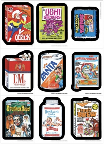 2017 Topps Wacky Packages Old School 6 Trading Cards 1