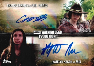 Topps Walking Dead Evolution