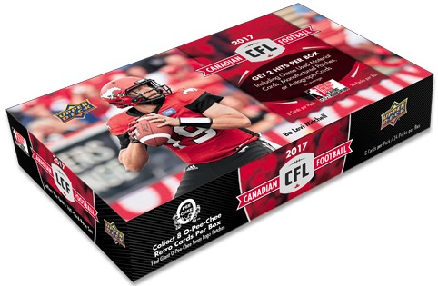 2017 Upper Deck CFL Football