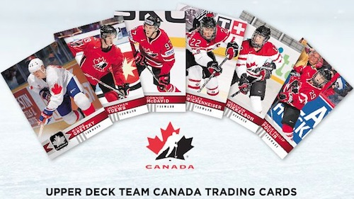 2017-18 Upper Deck Canadian Tire Team Canada Hockey Cards 1